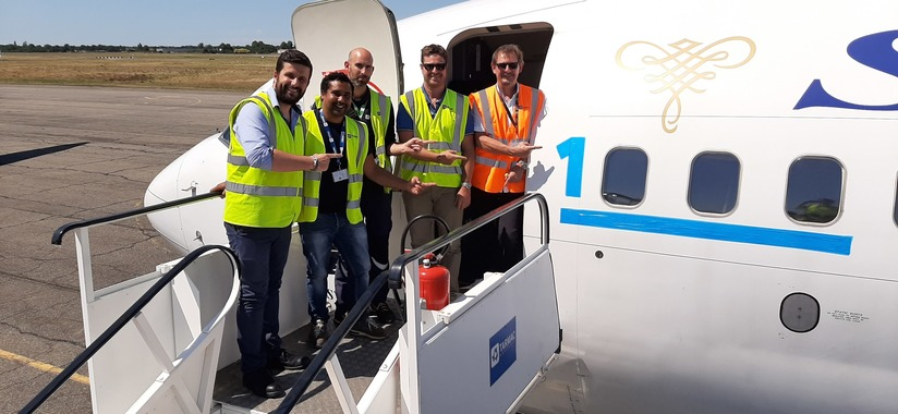 1000th aircraft arrival for TARMAC Aerosave Group
