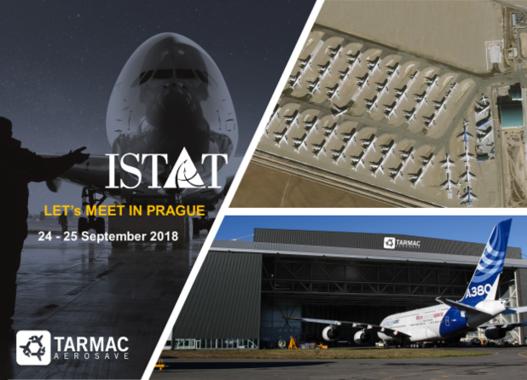 Tarmac Aerosave will attend ISTAT EMEA in Prague