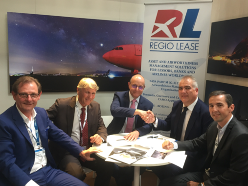 TARMAC AEROSAVE and REGIO LEASE sign a Memorandum of Agreement