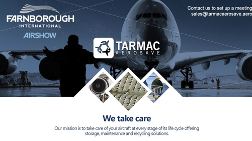 Meet us at Farnborough Internation Airshow