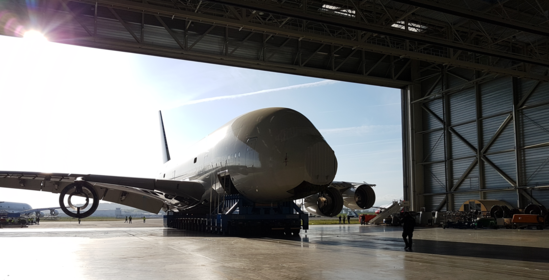 TARMAC AEROSAVE INNOVATES IN A380 DISMANTLING AND MAINTENANCE