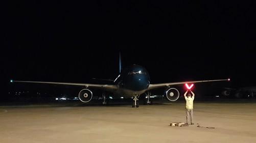 More than 600 aircraft arrivals!