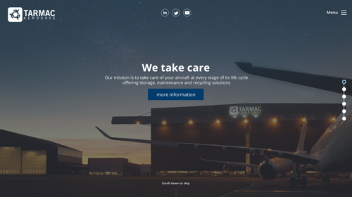 Tarmac Aerosave launches its newly revamped website!