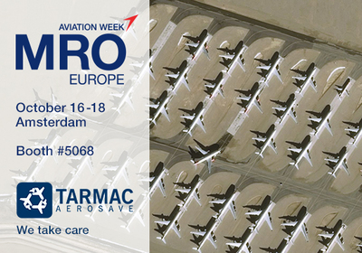 Tarmac Aerosave will attend MRO Europe 2018