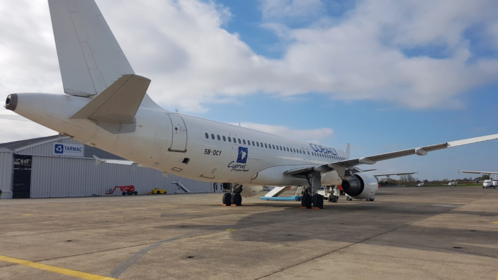 50th aircraft arrival in Toulouse-Francazal