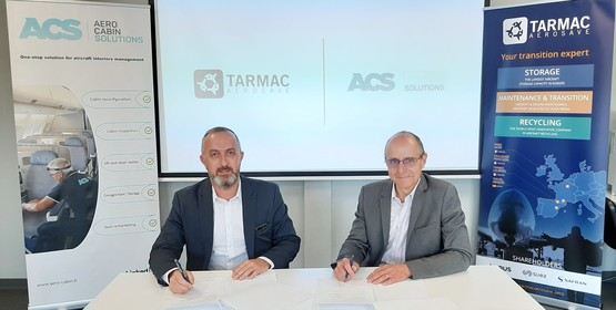 Aero Cabin Solutions (ACS) become a privileged partner of TARMAC Aerosave