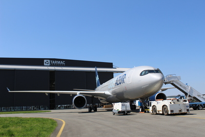 Delivery of the first Aigle Azur's A330