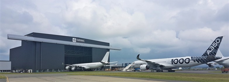First A350-1000 from Airbus welcomed in TARMAC AEROSAVE
