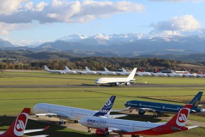 Tarmac Aerosave accomodates its 1st A380